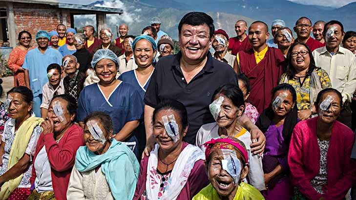 Himalayan Cataract Project curing blindness and restoring vision