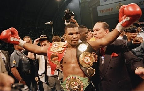 Mike Tyson became the youngest boxing world heavyweight champion