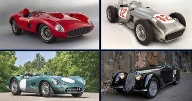 Top ten most expensive vintage cars
