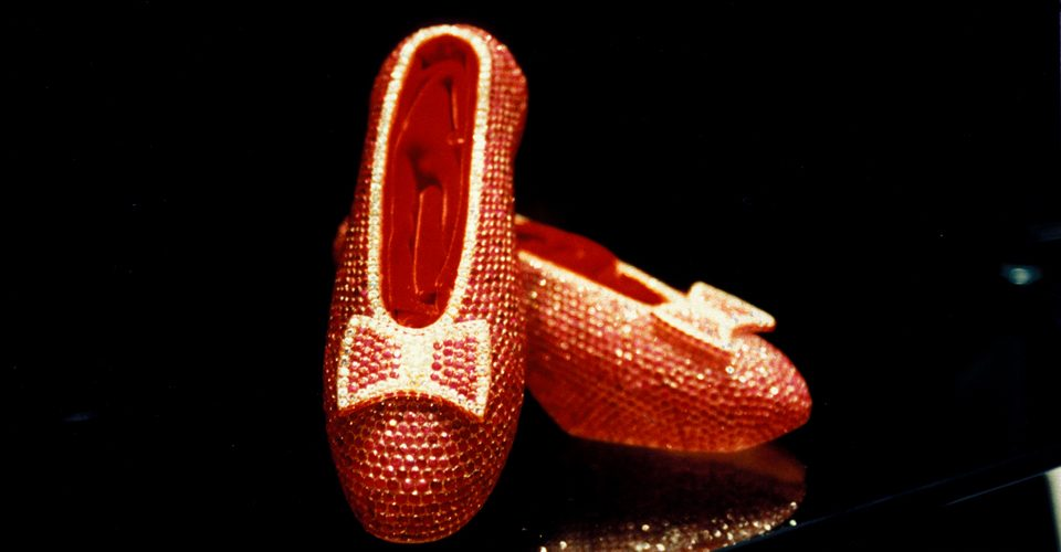 Ruby Slippers by Harry Winston