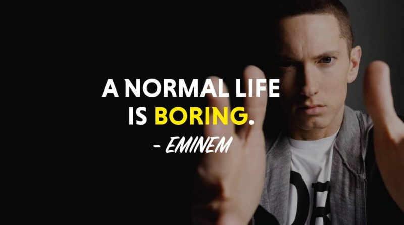 Shady Dominion Of The Self-Proclaimed Rap God, Eminem